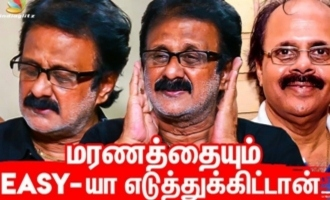 Crazy Mohan even took death easily - Brother Maathu Balaji interview