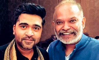 Simbu's new look for Maanaadu revealed!
