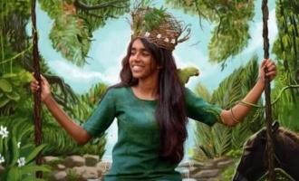 Parvathy Thiruvothu unveils the motion poster of Leena Manimekalai's 'Madathy'