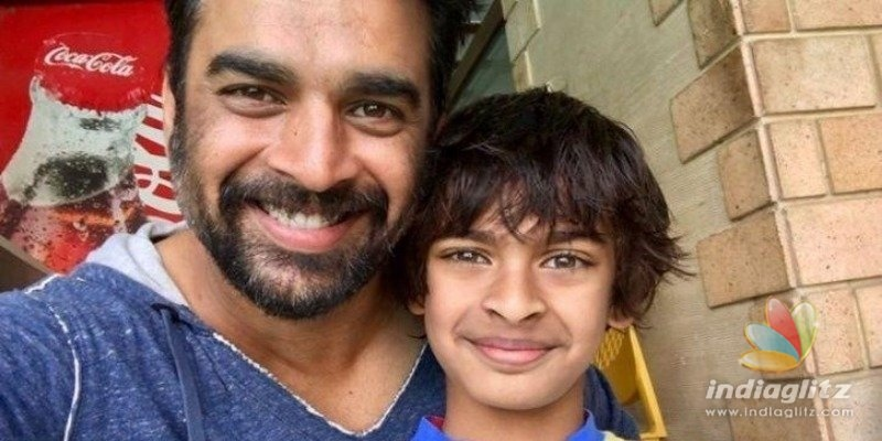 Madhavans son makes him proud!