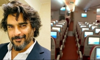 Check out video of Madhavan's strangest flight experience - Its scary!