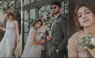 Actress Madonna Sebastian got married suddenly?