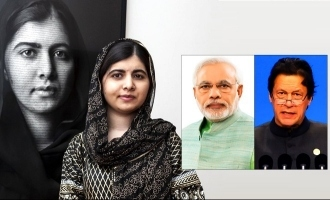 Malala Yousafzai's message to Imran Khan and Narendra Modi