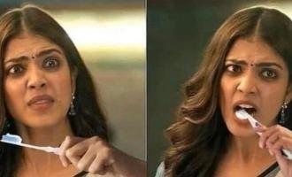 Actress Malavika Mohanan reaction to Master memes