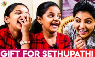 Kutty Fan of Vijay Sethupathi : Baby Manasvi & Athulya Ravi Interview