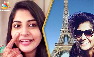 Shooting in France is Freezing but fun! : Manjima Mohan Interview
