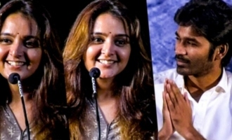 I am a big fan of Dhanush - Manju Warrier speech
