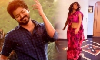 Superstar's daughter's mass kuthu dance video for Thalapathy Vijay's 'Vaathi Coming'