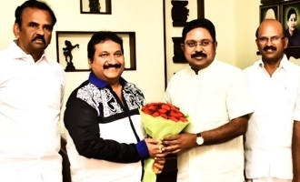 Singer Mano joins TTV Dinakaran!