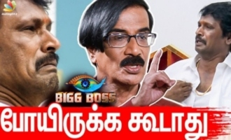 Cheran made a big mistake going to Big Boss 3 - Manobala interview