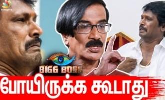 Cheran made a big mistake going to Big Boss 3 - Manobala interview