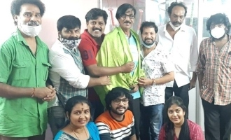 Manobala is the president of Television actors association