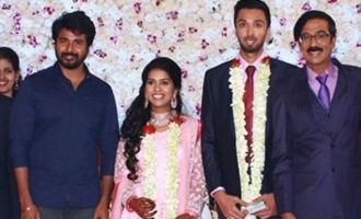 Mano Bala Son Harish - Priya Wedding Reception Stills