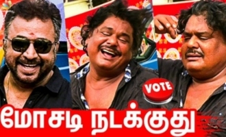 Mansoor Ali Khan Speech at Nadigar Sangam Elections 2019