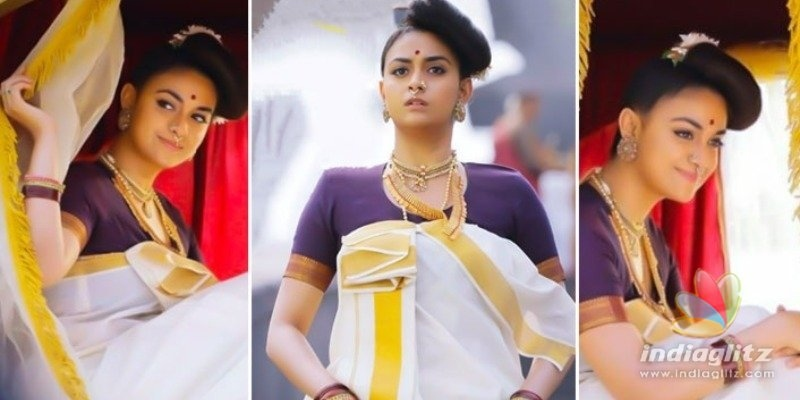 Keerthy Sureshs new look for historical will leave you stunned!