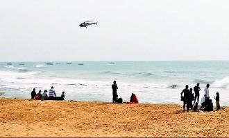 Two engineering students missing, one dead at Chennai's Marina Beach