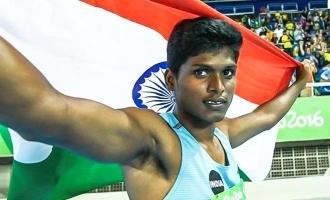 பாரா ஒலிம்பிக் போட்டி: தமிழக வீரர் மாரியப்பனுக்கு பதக்கம்!