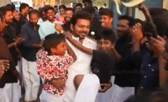 Thalapathy Vijay's mass Pongal celebrations with 'Master' team rocking video out
