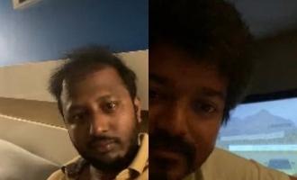 Thalapathy Vijay and 'Master' team practicing social distancing photos go viral