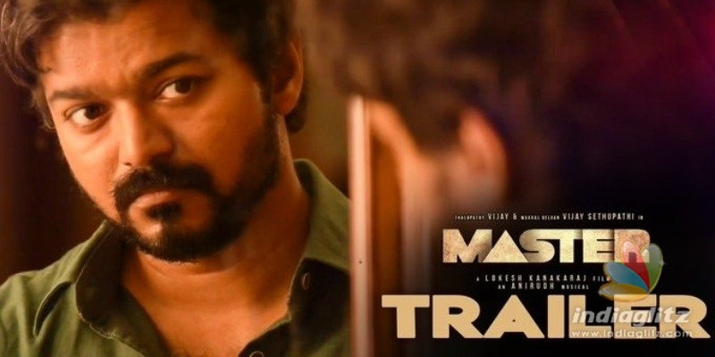 Breaking! Thalapathy Vijays Master trailer launch date revealed