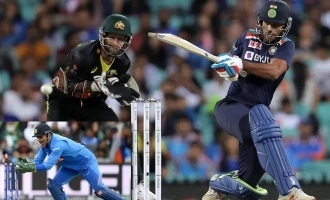 Australia captain Mathew Wade praises M.S. Dhoni after missing quick stumping chance
