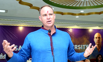 Mathew Hayden : An Interaction with Sathyabama Students
