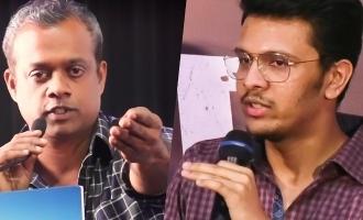 Karthik Naren questions Gautham Menon again