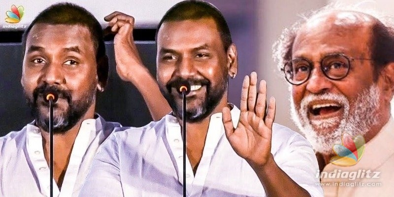 Raghava Lawrence clarifies regarding Kamal troll controversy at the Darbar audio launch