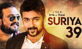 Breaking! 'Suriya 39' crew officially announced