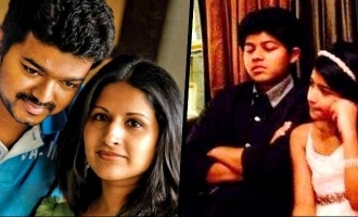 Thalapathy Vijay's wife and son team up for a new project