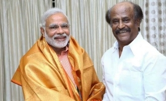 Superstar Rajnikanth congratulates Narendra Modi!