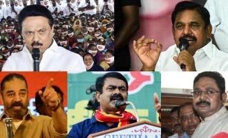 tamil nadu Parties which lost deposits