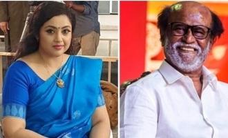 Actress Meena gives a hot update on Superstar Rajinikanth's 'Annaathe'