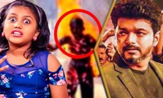Vijay Cried During the Collector Office Scene : Sarkar Kid Meenu Interview