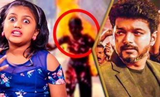 Vijay Cried During the Collector Office Scene : Sarkar Kid Meenu Interview