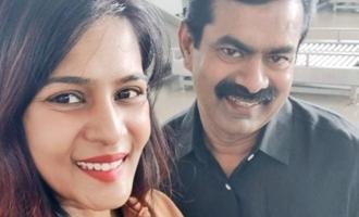 எதிர்பாராத சந்திப்பு: பிரபல அரசியல்வாதி சந்திப்பு குறித்து மீராமிதுன்