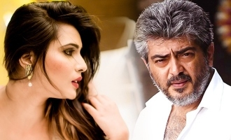Meera Mitun's photo with Ajith goes viral on internet!