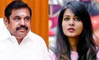 Meera Mitun challenges Tamil Nadu CM in 'Mudhalvan' movie style