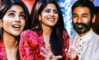It's Still a BIG DREAM for Dhanush : Megha Akash Reveals