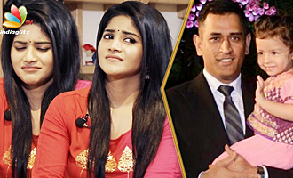 Give Dhoni & Ziva to me please! Megha Akash Interview