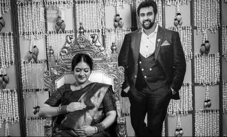 Meghana Raj's baby shower function with late husband Chiranjeevi Sarja's virtual presence