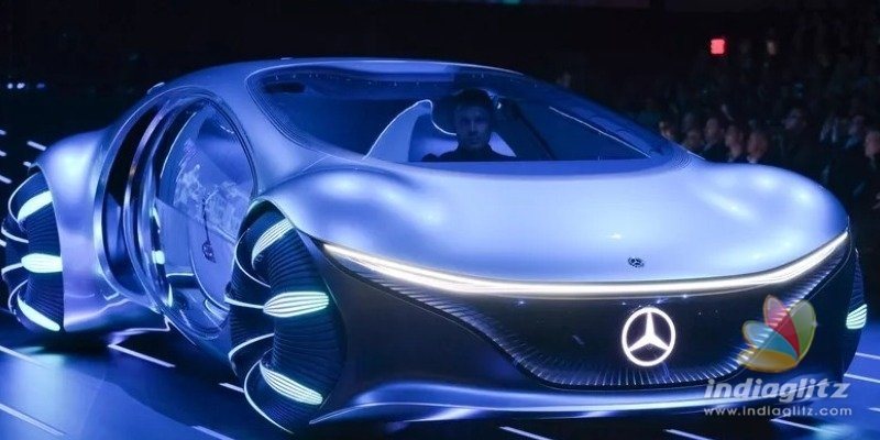 OUT OF THE WORLD! New Avatar inspired Mercedez Benz car unveiled