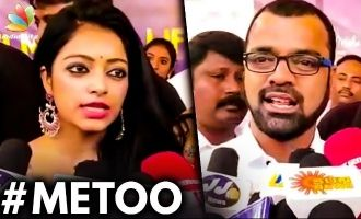 Try to respond immediately : Janani Iyer on MeToo Movement