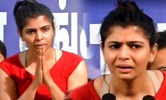 'மீடூ' விவகாரத்தில் எத்தனை ஆண்கள் குரல் கொடுத்தீர்கள்: சின்மயி கேள்வி