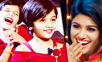 Kutty Oviya - Kings of Comedy Juniors Miruthula Sri Interview