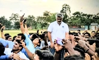 Thala Ajith reunites with MIT students after 'Viswasam' wrap