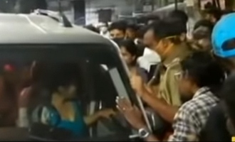 Model girl who drove a car under the influence of alcohol at midnight in Chennai
