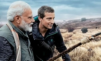 PM  Narendra Modi on Discovery Channel's Man Vs Wild!