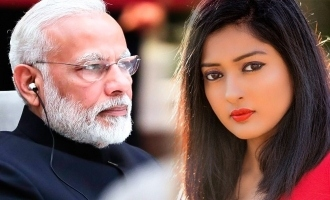 Narendra Modi message to Gayathri Raghuram Elections 2019