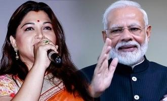 Kushbhu thanks PM Modi for this reason!